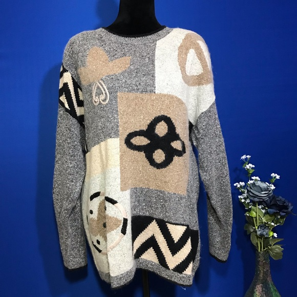 Segue Sweaters - Segue Vintage Silk Blend Pullover Sweater